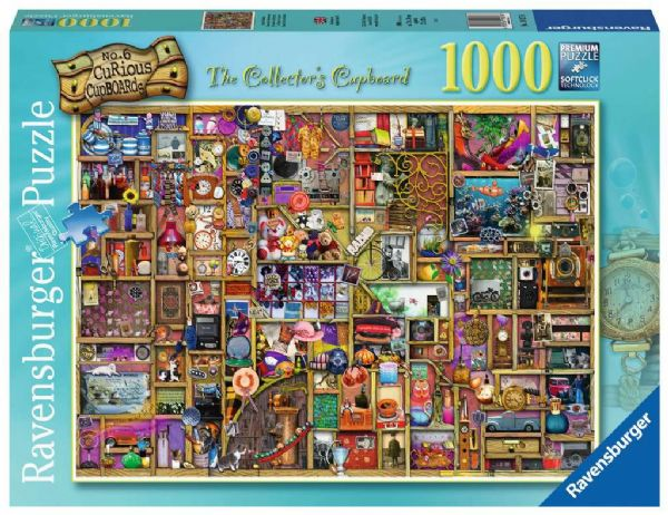 RAVENSBURGER  The Collectors Cupboard 1000pc Jigsaw